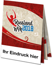 "WM2018-Planer ""Faltblatt"""