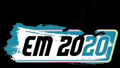 Fußball EM2020 Logo