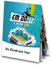 EM 2021 Planer Faltblatt